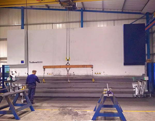 Largest Trumpf TruBend in UK
