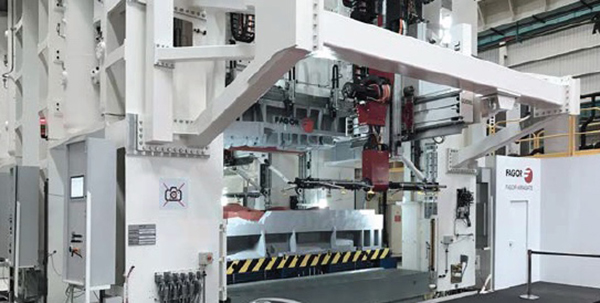 First Güdel automated press line in Europe