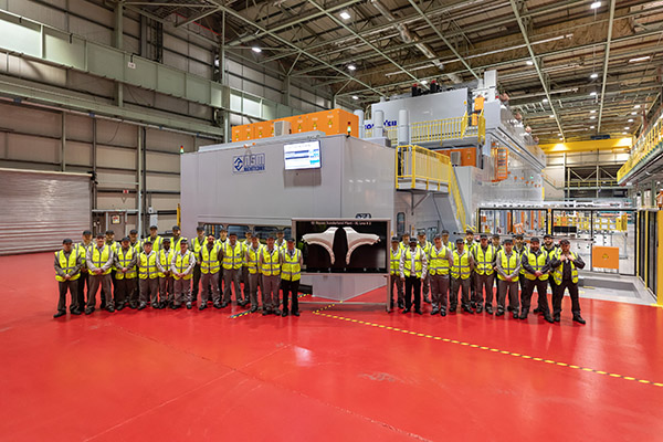 Nissan stamping line unveiled