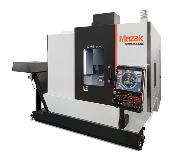 Five-axis VMC made in UK