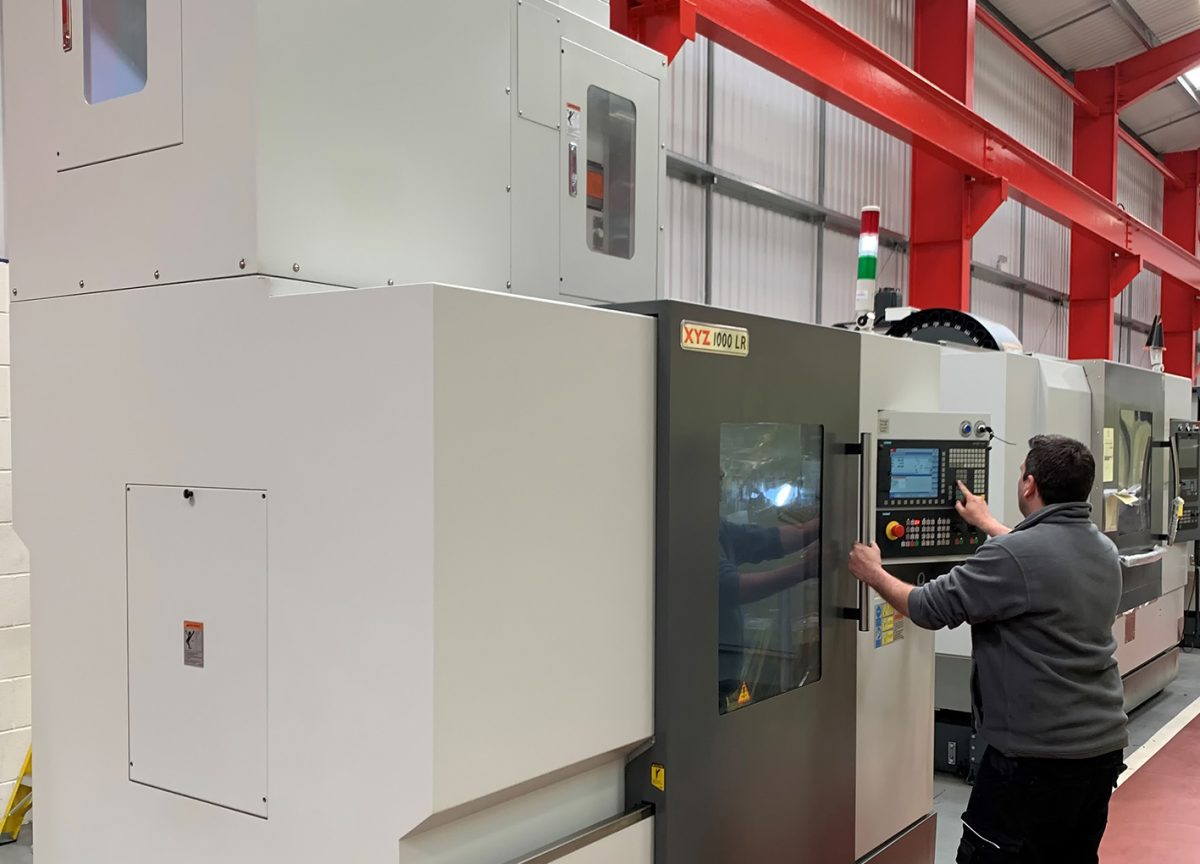 Z axis extended on customer machine