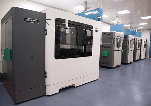 Customised production with Stratasys 3D printing