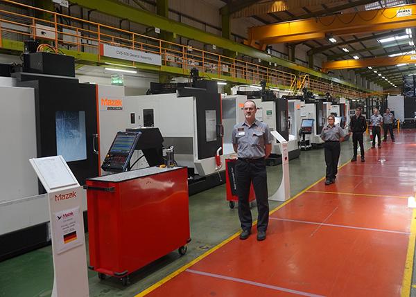 Mazak increases UK production