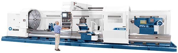 CNC lathes feature mono-block beds
