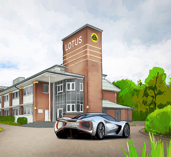 Lotus to build technology centre