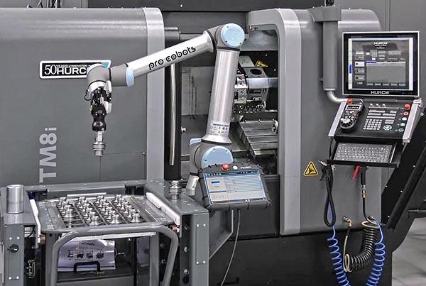 Hurco automated production demonstrator