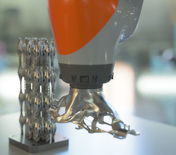Renishaw joins AM  post-processing project