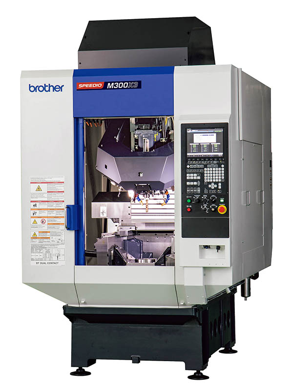 Larger capacity five-axis mill-turn