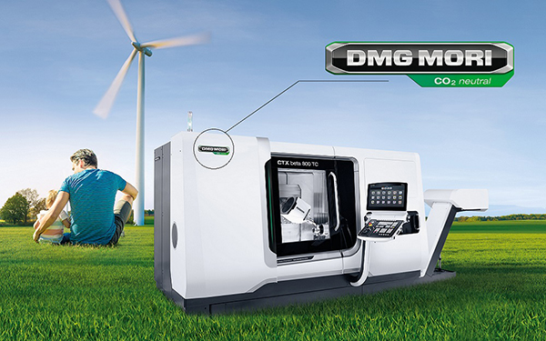 Carbon-neutral production at DMG Mori