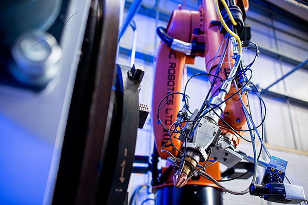 Robot-based system for LMD coating and repair