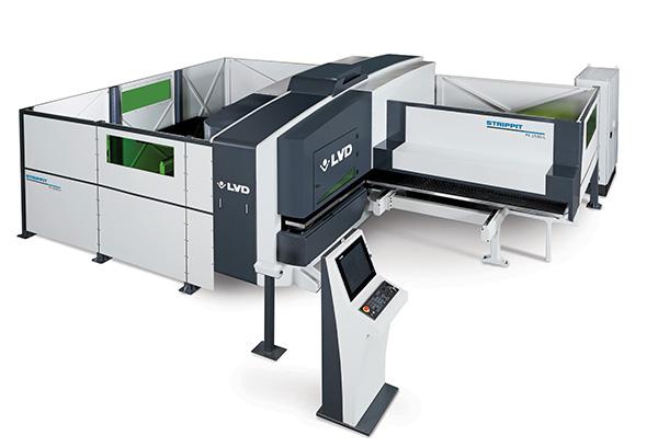 Punch-laser combination machine