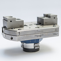 Two-jaw module from Hainbuch