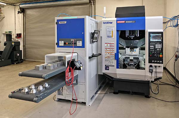High-speed automated machining