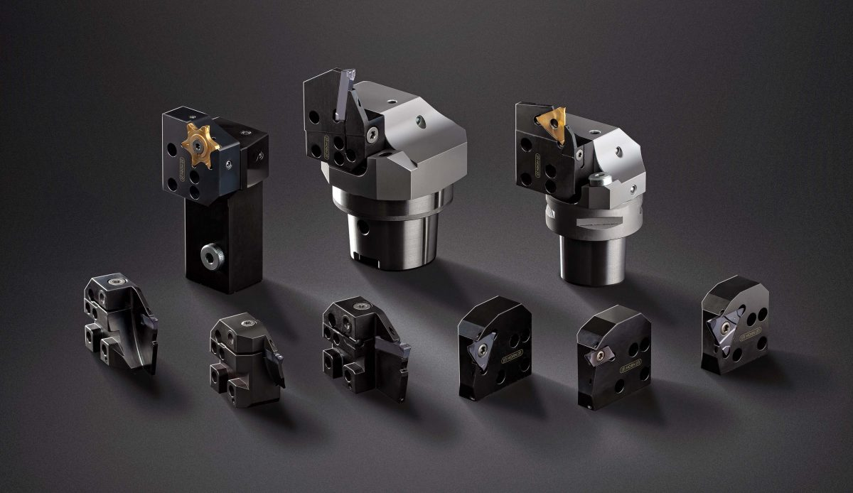 Horn expands grooving cartridge system