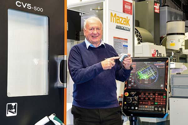 JWA invests in British-built machine