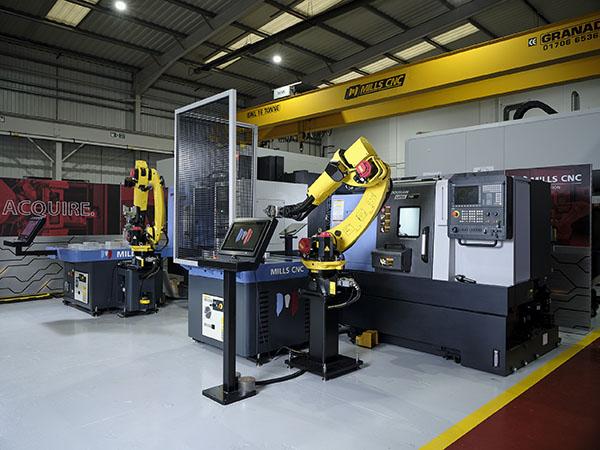 Mills CNC opens automation centre