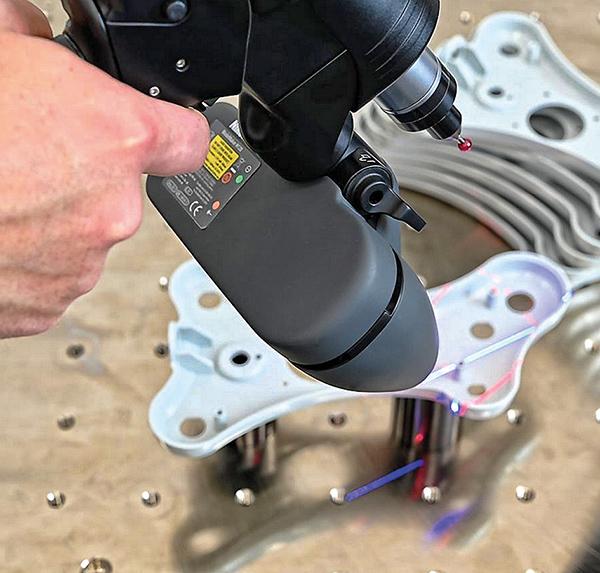 Ultra-high accuracy measuring arms