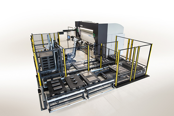 Robotic bending system from LVD
