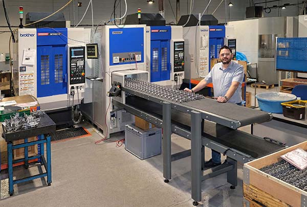 Subcontractor orders second automated machining cell