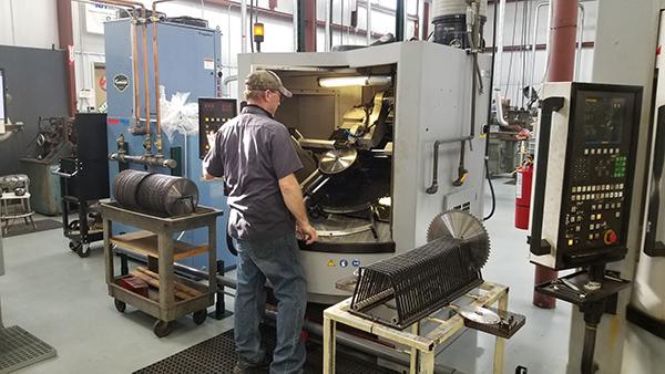 Pallet full of benefits for saw manufacturer
