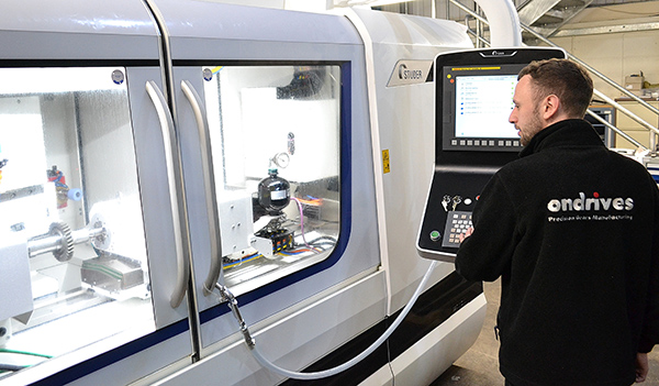 Ondrives gears-up for precision grinding