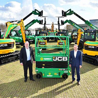 Biggest ever UK order for JCB