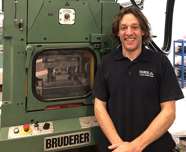 £100,000 investment in new press line