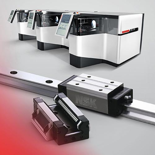 Centreless grinder uses NSK roller guides