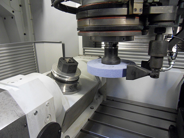 Five-axis grinding from ETG