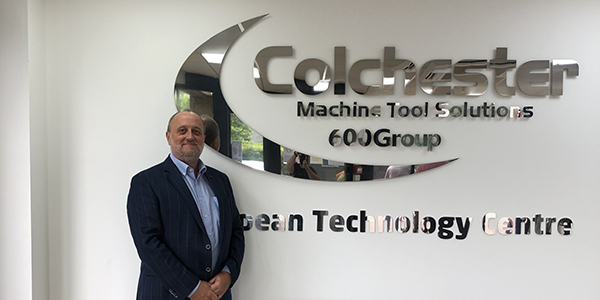 UK sales manager appointed at Colchester