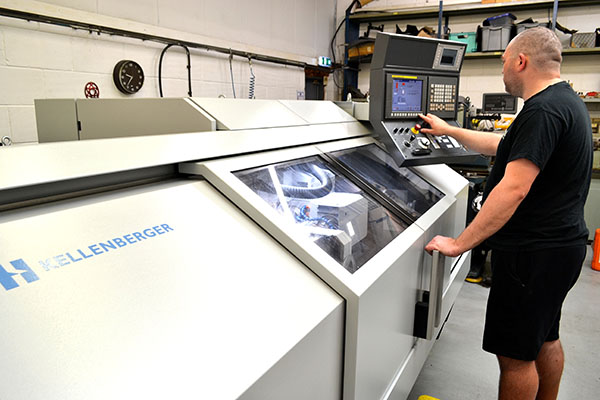 Precision grinding with Kellenberger