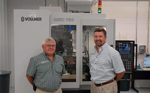 Toolmaker puts trust in Vollmer