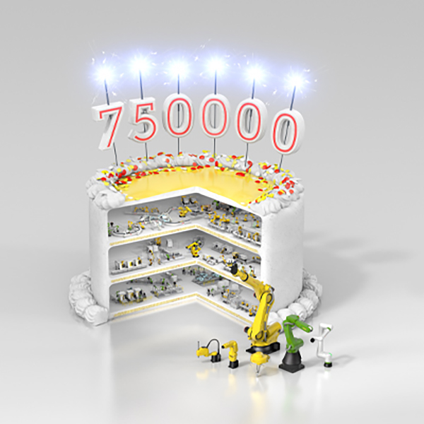 750,000th FANUC robot