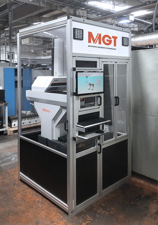 Mitutoyo solution aids inspection efficiency