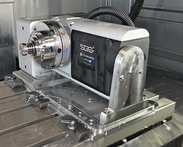 Rotary table puts subcontractor in pole position