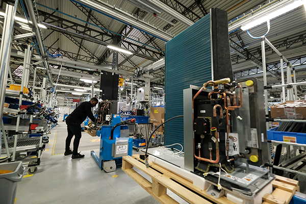 Vaillant expands UK facility