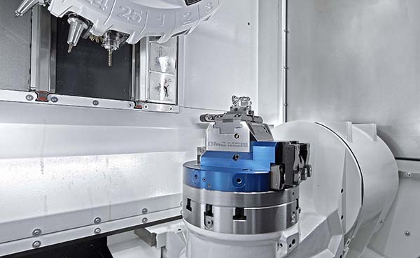 Compact machining cell from DMG Mori