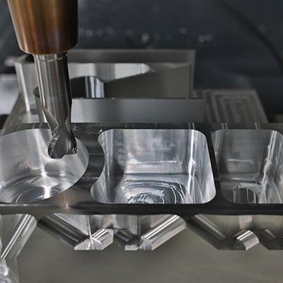 Cutters suit aluminium aerospace parts