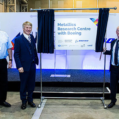NMIS and Boeing open R&D facility