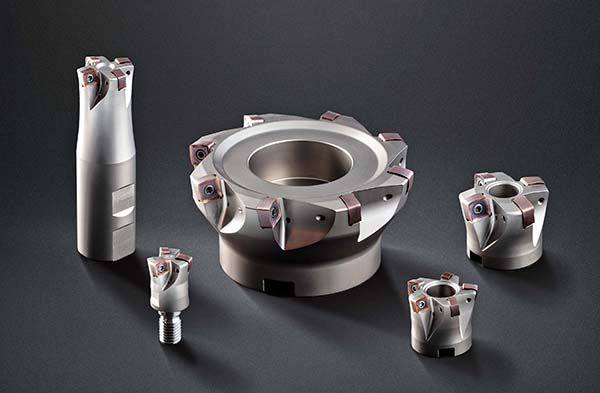 New high-feed milling cutters